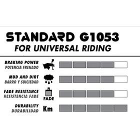 GALFER BIKE Standard Brake Lining avid elixir 1,3,5,7 xx,xo